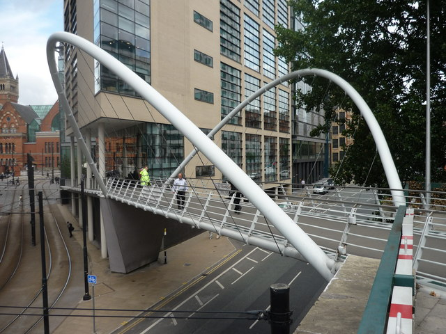Footbridge, Piccadilly Station, Manchester