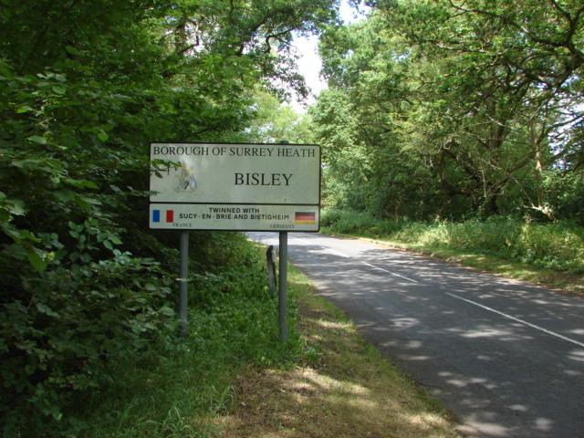 Bisley Village sign