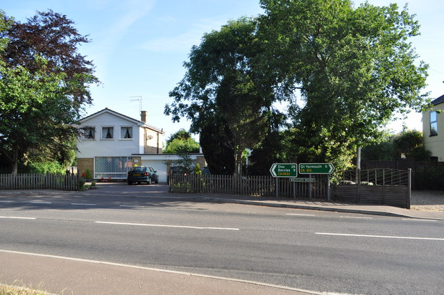 Site of a Level crossing