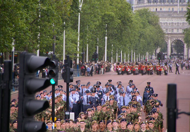 Parade on The Mall, London