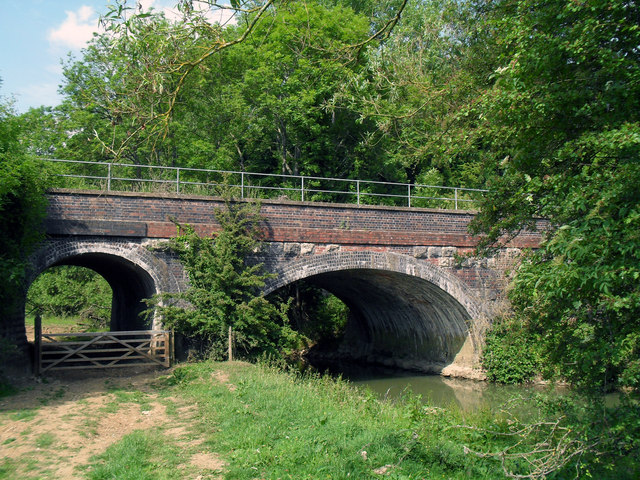Railway Bridge near Combe