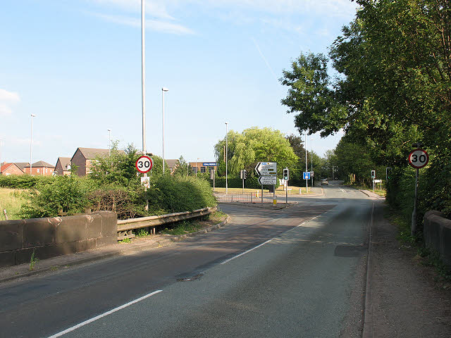 Ravenscroft Bridge and junction
