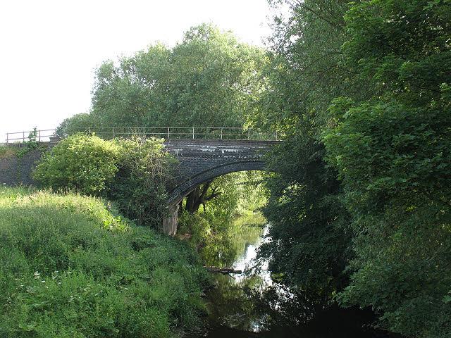 Railway bridge over the River Dane