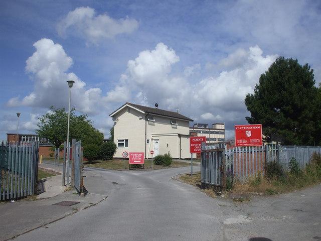 Entrance to St Cyres School, Penarth