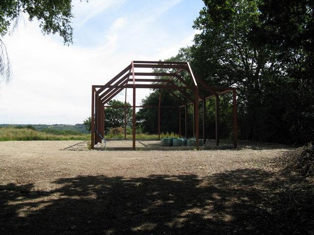 New construction near Derridge Farm