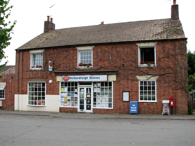 Orchardleigh Stores and Post Office in The Street, North Cove