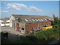SJ7066 : Warehouses next to the railway by Stephen Craven