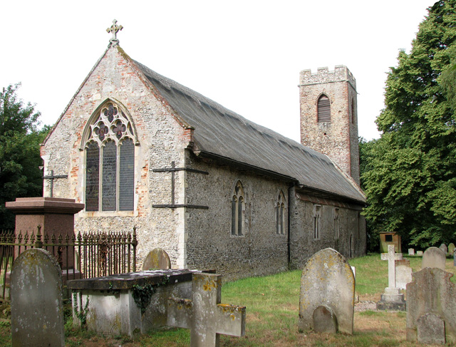 St Botolph's church in North Cove