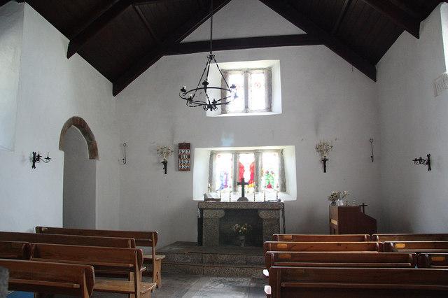 St Mary's Old Church interior