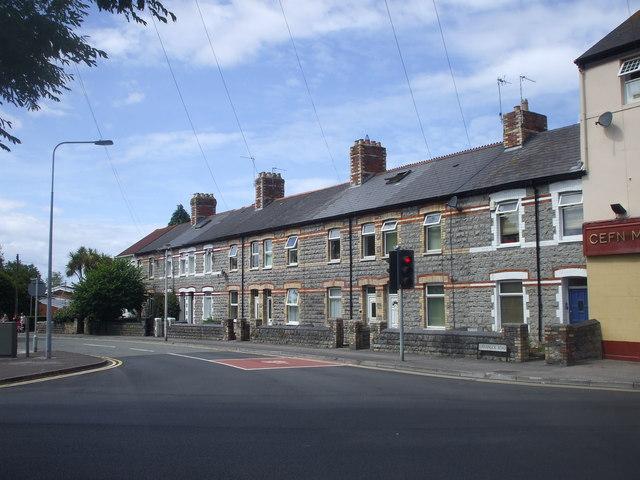Terraced houses, Lavernock Rd, Penarth
