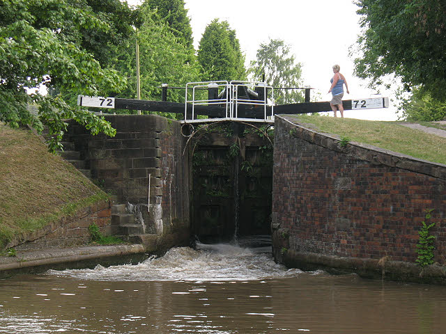 Lock no 72 at Middlewich