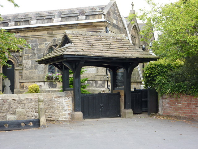 St Anne's Church, Woodplumpton, Lych gate