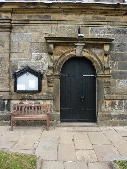 St Anne's Church, Woodplumpton, Doorway