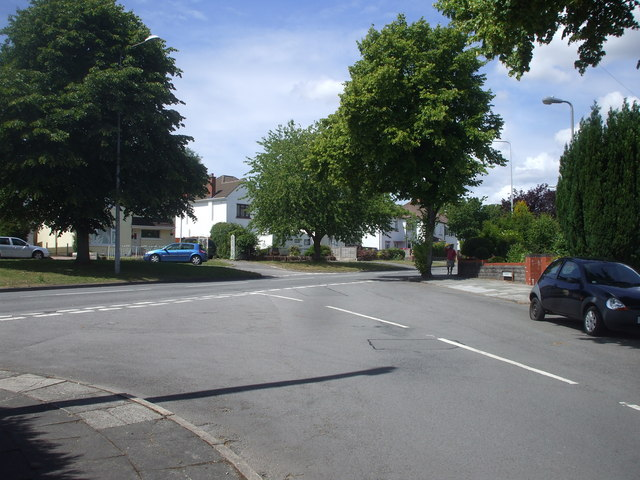 Junction of Forrest Rd and Lavernock Rd, Penarth