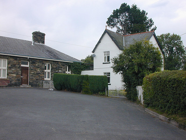The old station house, Rhayader