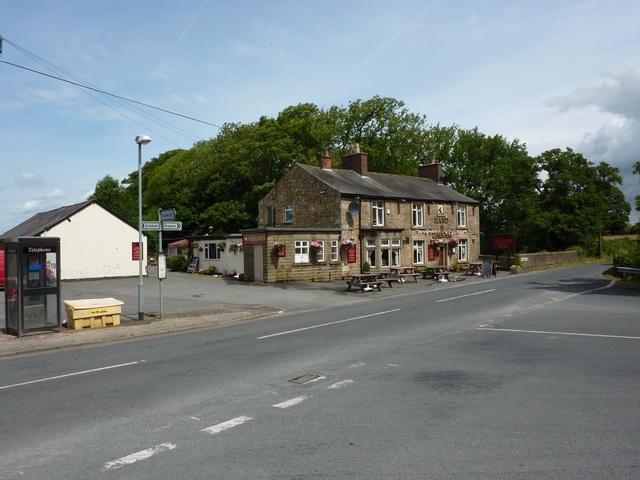 Hand & Dagger north of Salwick Station