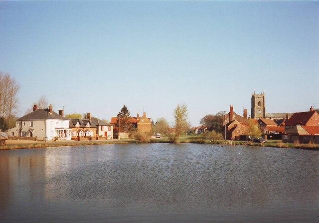 Village pond, Great Massingham, Norfolk