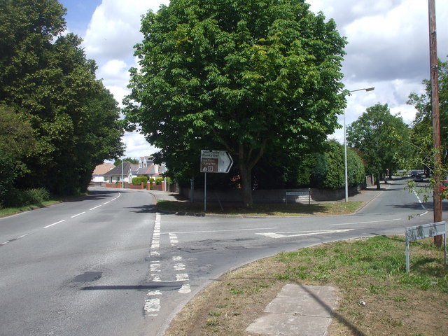 Junction of Lavernock Rd and Westbourne Rd, Penarth