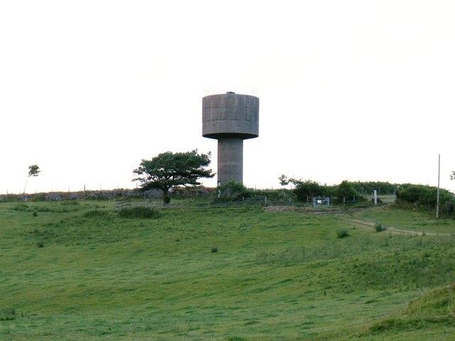 Water Tower on Moel Troed-y-Rhiw