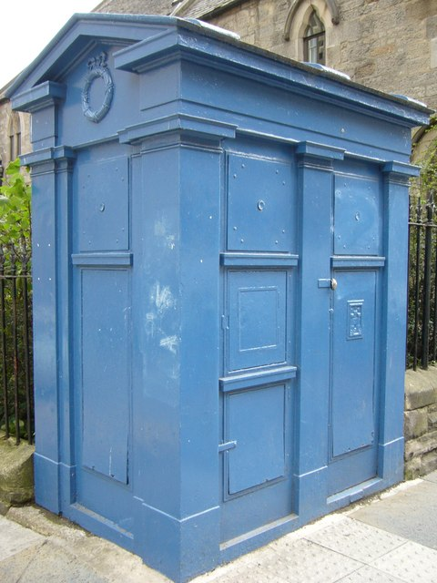 Edinburgh police box, Canongate