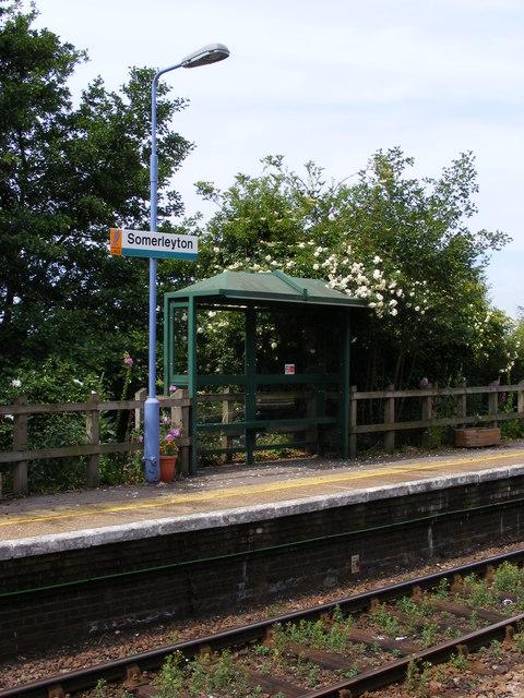 Somerleyton Station detail
