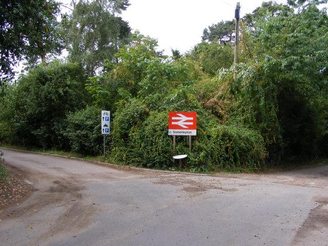 Station Road Somerleyton