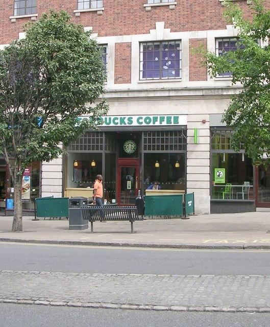 Starbucks Coffee - The Headrow