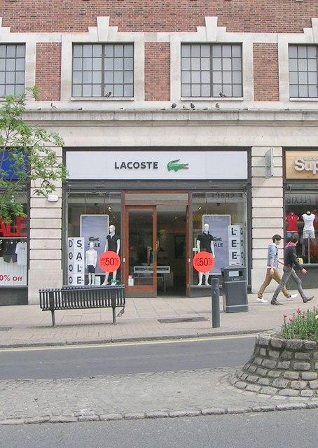 Lacoste - The Headrow