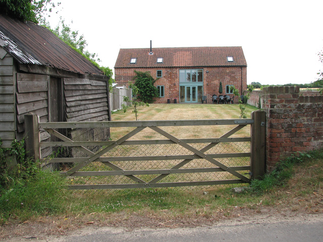 Barn conversion at Low Farm, North Cove