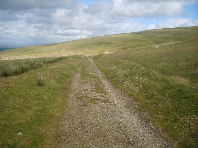 Track under Deer Hills