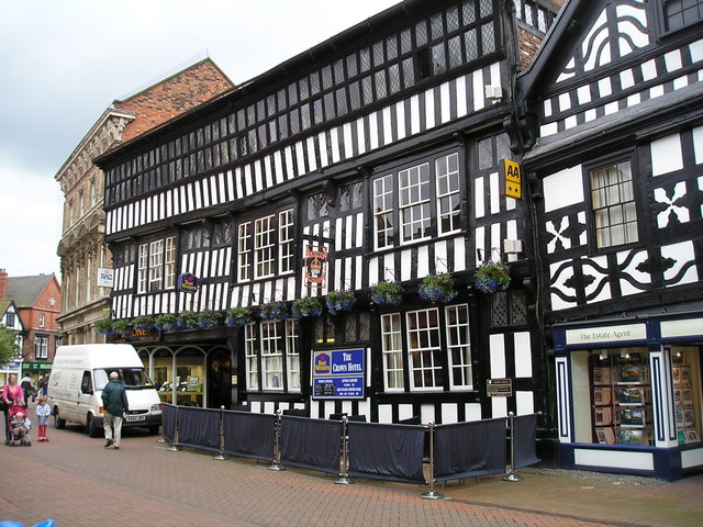 The Crown Hotel Pub, Nantwich