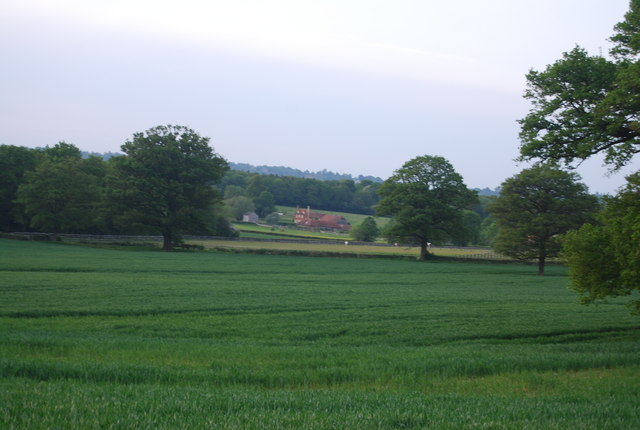 Hale Wood Farm in the distance