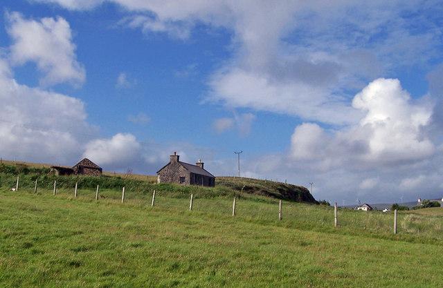 Croft cottage in Dunanellerich