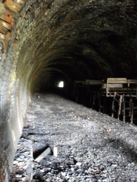 Inside Bowshank Tunnel