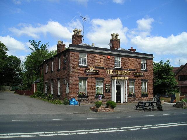 The Talbot Pub, Market Drayton