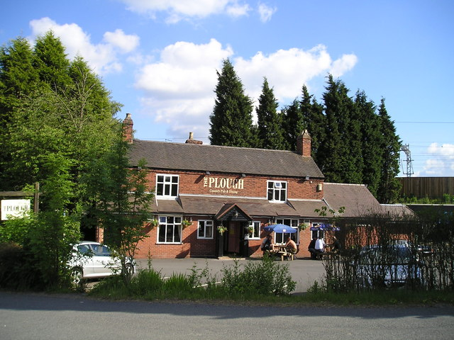 the Plough Pub, Huddlesford, Lichfield