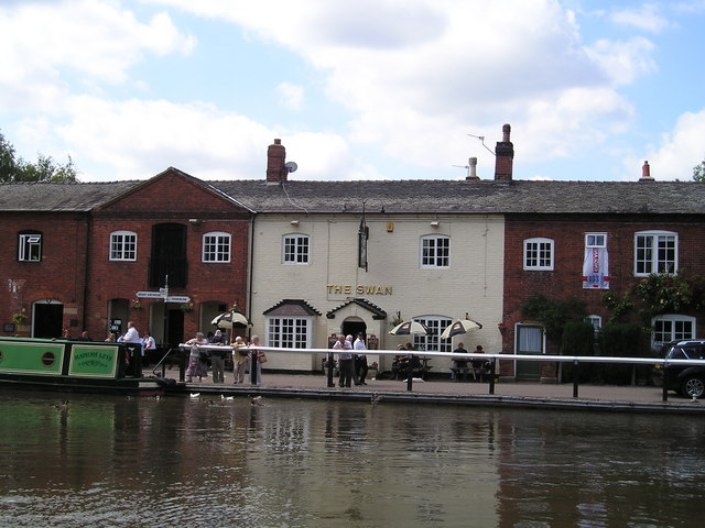 The Swan Inn Pub, Fradley Junction, Burton on Trent