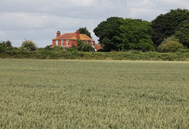 Meagram House viewed from public footpath