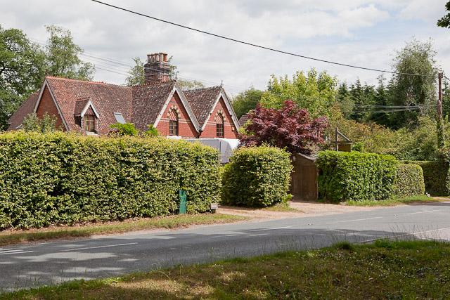 House named Little Croft, Jermyns Lane