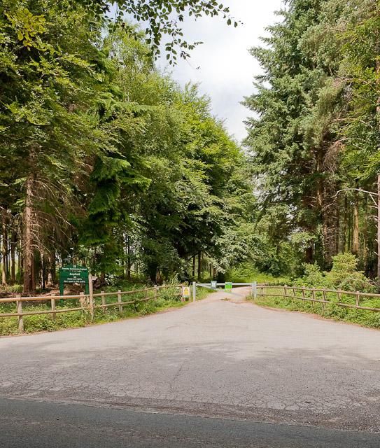 Entrance to Ampfield Wood, Jermyns Lane
