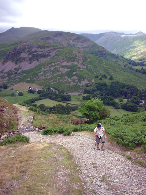 The track to Boredale Hause