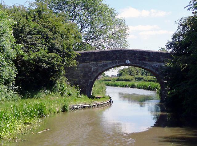 Orton's Bridge near Marston Jabbett, Warwickshire