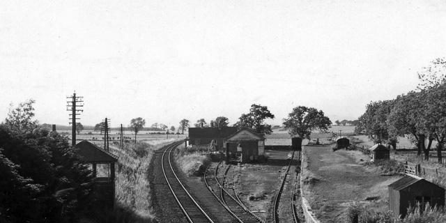 Burrelton Station (remains)