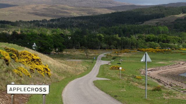 Applecross: Single Track Road With Passing Places