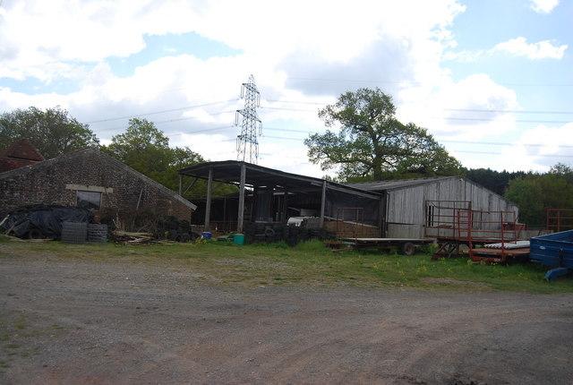 Barns and buildings, Warr's Farm