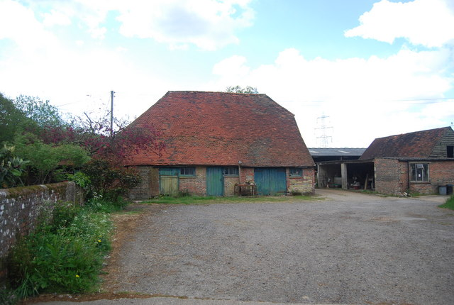 Brick barn, Warr's Farm