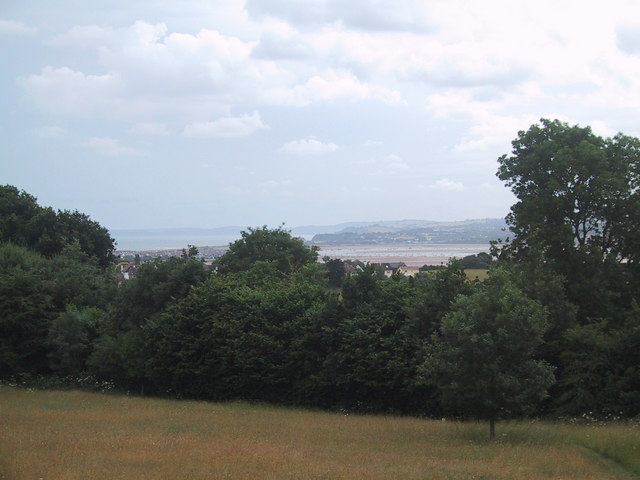 View over the Exe estuary from A la Ronde