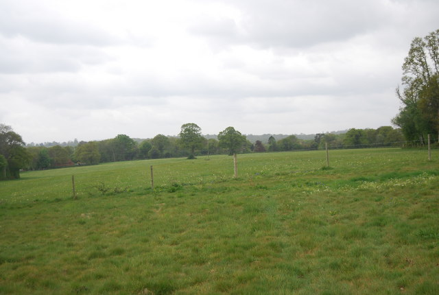 Farmland near the brickwork
