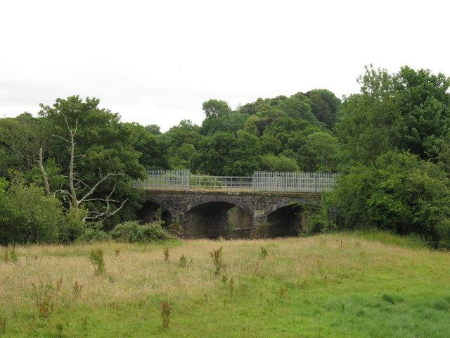 Former railway bridge near St Fagan's