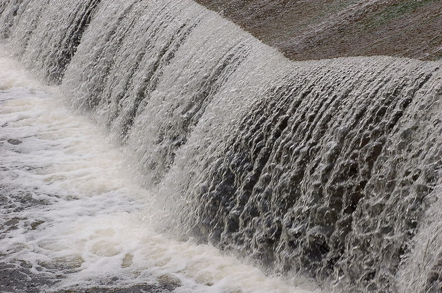 Cascade on the Ettrick Water